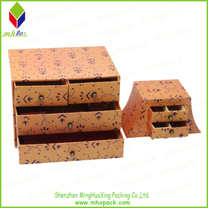 Drawer Style Paper Jewelry Packing Box