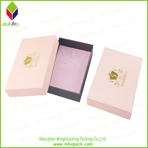 Gold Stamping Paper Packaging Storage Sock Box