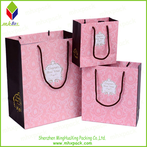 Ink Printing Paper Fashion Trave Carrierl Bag