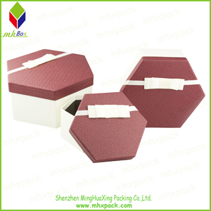 Delicate Hexagon Packaging Gift Chocolate Box