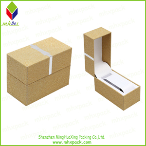 Customized Luxury Paper Gift Packaging Watch Box