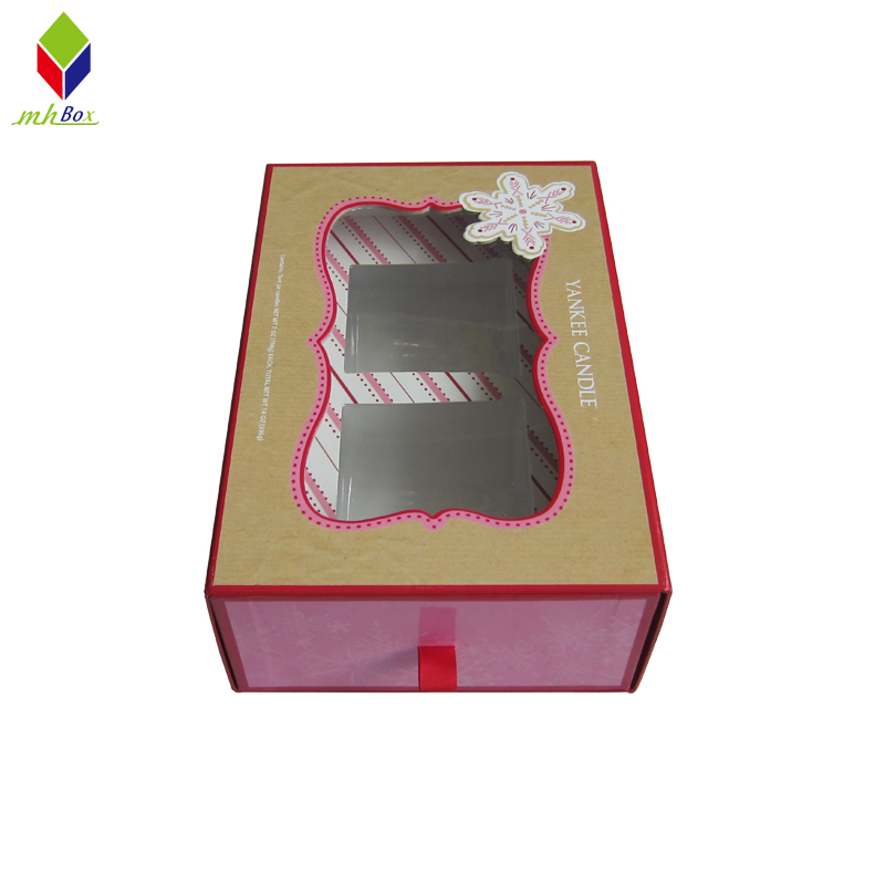 Custom Drawer Candle Packaging Gift Boxes