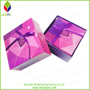 Strong Colorful Lid and Base Packaging Gift Box
