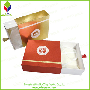 Shiny Packing Paper Gift Drawer Box