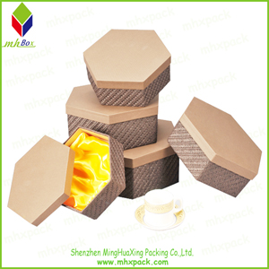 Beautiful Irregular Shape Paper Packaging Gift Box
