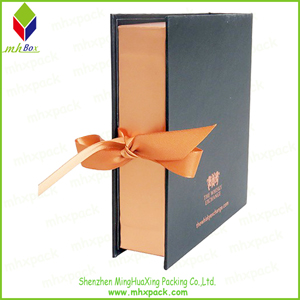 Book Style Gift Packaging Paper Box