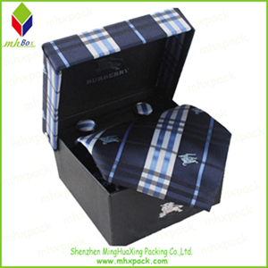 Striped Packaging Gift Folding Box for Tie
