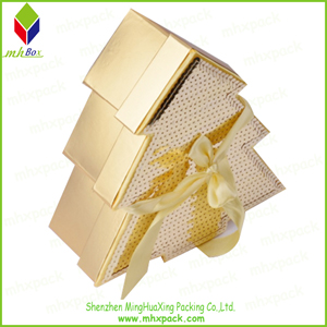Christmas Tree Packaging Chocolate Paper Box