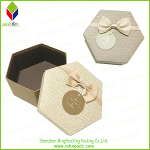 Irregular Shap Paper Gift Chocolate Packaging Box