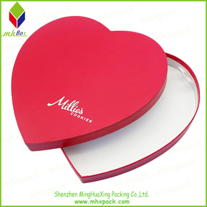 Heart-Shaped Gift Packaging Paper Box