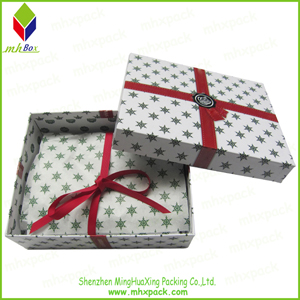 christmas cosmetic paper gift box