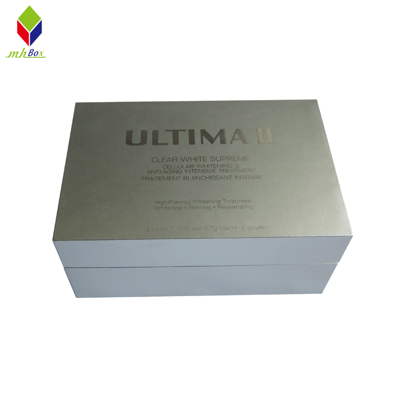 Rectangle Clamshell Cosmetic Gift Packaging Paper Box