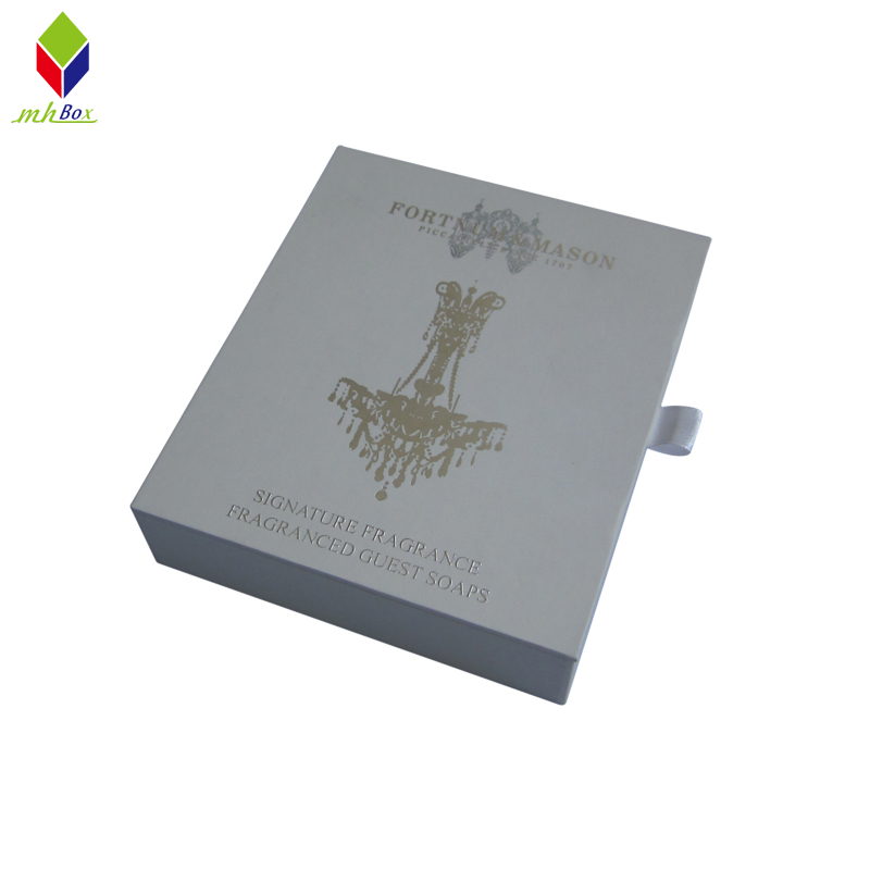 Luxury Clamshell Packaging Paper Box for Cosmetic Products