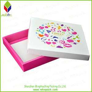 Table Set Packaging Paper Lid and Base Box