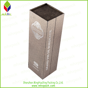 Folding Paper gift Wine packaging Box