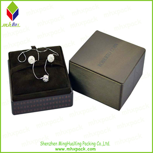 Noble Heavy Printing Paper Box for Set Jewelry